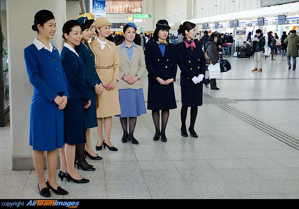 ANA Flight Attendant Uniforms