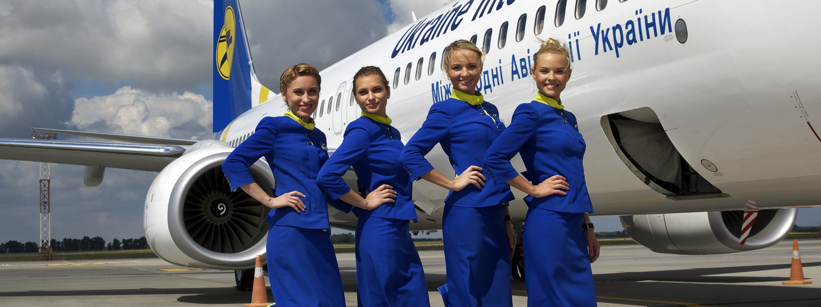 Airliner pilots and cabin crew members
