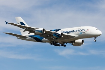 Malaysia Airlines 9M-MNF the 100th A380
