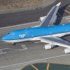 KLM Boeing 747-400 departing LAX for Amsterda