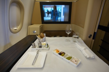 Etihad A340-600 Diamond First Class