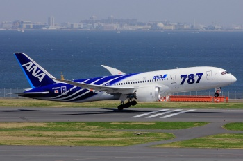 ANA All Nippon Boeing 787 Dreamliner