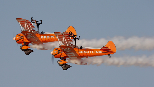 Video of Breitling Wingwalkers