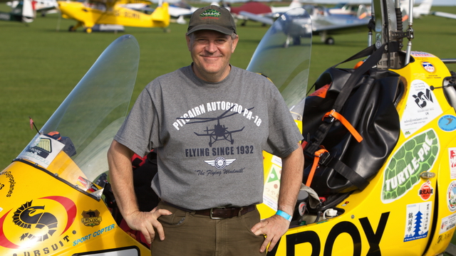 Video of Norman Surplus Autogyro World Record