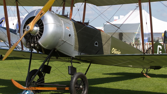 Video of Avro 504 with Eric Verdon Roe