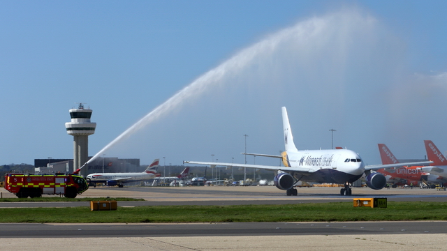 Video of Monarch Airlines Farewell A300 - Part One