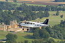 Piper PA-28-161 Cherokee of Oxford Aviation Accademy set against the b...