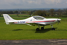 Aerospool WT9 Dynamic sport Microlight seen here at Bagby North Yorksh...