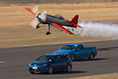 Jurgis racing the Ford cars at Warbirds over Wanaka 2010.