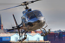 This Eurocopter was involved in a collision with a light aircraft over...