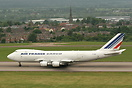 First visit of Air France Cargo to East Midlands Airport.