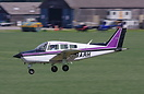 Beechcraft C23 seen here at Sherburn in Elmet, this aircrafts undercar...