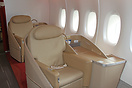 La Premiere (first class) seating on board the Air France A380