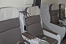 Affaires (business class) seating on the upper deck of the Air France ...