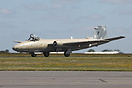 English Electric Canberra XH135 performing a taxi run during the 2010 ...