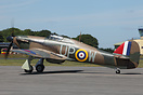 Peter Vacher's Hurricane Mk1 G-HUPW (4118) at the 2010 Cotswold Air Sh...