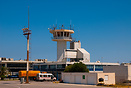 The ATC tower of Kos Island International Airport.