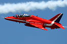 This British Aerospace Hawk T1A XX322 joined the Red Arrows in May 201...