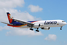 The short lived Lanco livery-has been removed; but still flies under t...