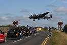 The Traffic has to stop at Waddington Airbase for Low flying Lancaster...