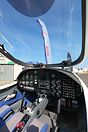 Aquila AT01 cockpit or its marketing name the Aquila A210.