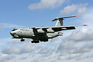 Ilyushin IL-78 RK3452 arriving at RAF Waddington for Exercise Indra Dh...