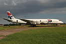 This Dc-8 is expected to be moved by road to Lelystad...