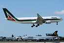 Second Airbus A33O for Alitalia, operating on the Japan and Miami rout...
