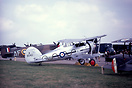 Gloster Gladiator II seen at the 1968 Royal Review & wearing 87 squadr...