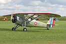 Morane-Saulnier MS.317 D-EZOR was an interesting visitor to Tannkosh 2...