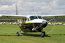 This Cessna 208 Caravan was an exhibit at Tannkosh 2010 and has 25 yea...