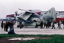 This RN Fairey Gannet was one of a number of visitors to Birmingham Ai...