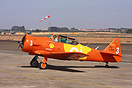 "The Squadron ""OI"" makes air shows in Brazil with T-6, Beechcraft 18 an..."