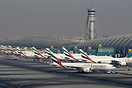 Emirates rush hour about to start...