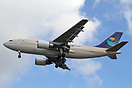 Airbus A310-300F TC-SGM leased from ULS Cargo and in full Saudi Arabia...