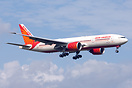 Air India Boeing 777-200LR VT-ALH coming in to land on 23L from New De...
