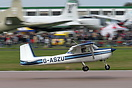 This Cessna 150E G-ASZU built in 1965 was a welcome visitor to the Cov...