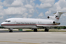 H.E. Tex Sutton Boeing 727 N725CK offering 'First Class Equine Air Tra...