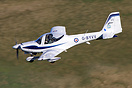 Grob G-115E Tutor T1 seen here on Low Fly training in the North of Eng...