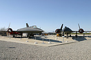Preserved SR-71's at the Blackbird Air Park.