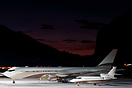 Boeing 767 & Falcon 900DX