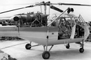 One of two Westland Scout prototypes which were previously known as th...