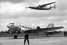 Douglas C-47A Skytrain G-AHCZ was delivered to BOAC in 1946. It was tr...