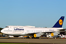 Lufthansa Boeing 747-400 operating a charter for the Berlin Philharmon...