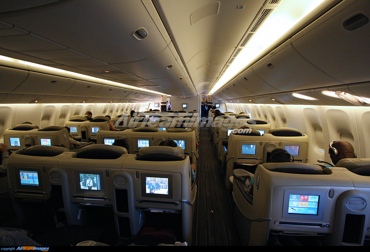 Boeing 777 300er large preview for Boeing 777 air france interieur