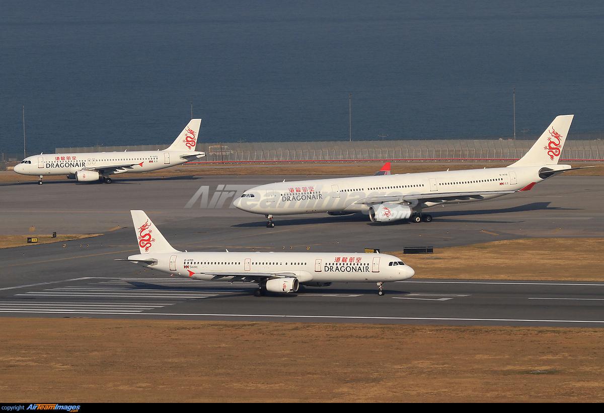 Dragonair Airbus A321 & A330...