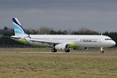 Airbus A321, EI-LVB, is the first Airbus type to be operated by Air Bu...