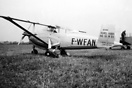 The Hurel-Dubois HD-10 F-WFAN was a French research aircraft first flo...