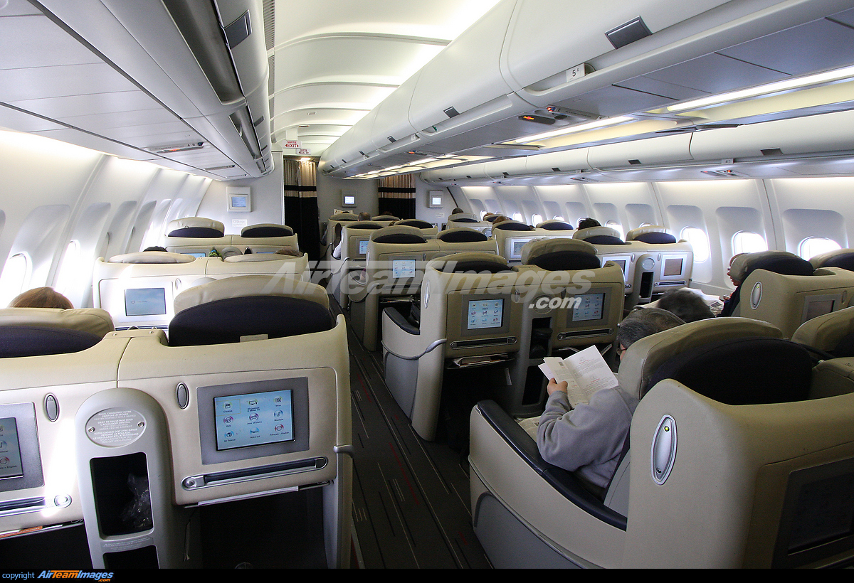 Airbus A340 Interior The Image Kid Has It