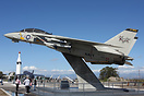 This Grumman F-14A Tomcat is part of a small static display at the NAS...